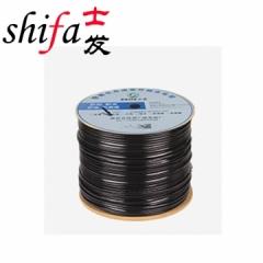 士发 室外阻水超五类网络综合线(无氧铜 4*0.5线径+2*0.5 双护套 270M)