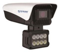 安特 AT-C8804T/M  300万 天视通8灯红外网络高清摄像机 6MM