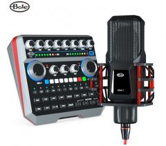 声佰乐 B6 手机电脑直播K歌专业声卡套装【不退不换 正常售后】
