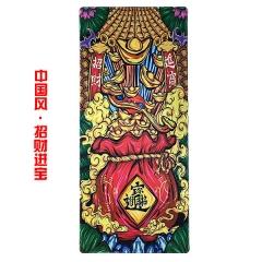 【多金版】中国风-招财进宝 400*900*3mm 精密锁边鼠标垫