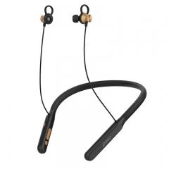 360 1S 挂脖式入耳项圈 跑步运动超长待机续航 运动蓝牙耳机 黑色