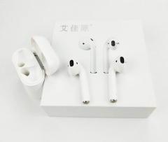 艾佳原 真无线蓝牙耳机 安卓苹果通用音乐蓝牙耳机 白色