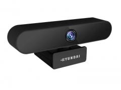 韩国现代 HYS-001 1080P全向麦克风视频直播高清摄像头 黑色