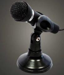 刃加 M-20 手持电脑麦克风 语音聊天专用话筒 黑色