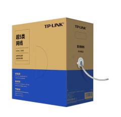 TP-LINK TL-EC5e-305A 超五类非屏蔽室内监控专业网线无氧铜 (足305米)