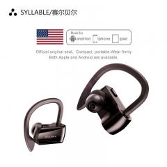 SYLLABLE/赛尔贝尔 D15 蓝牙5.0 挂耳式运动无线蓝牙耳机 黑色