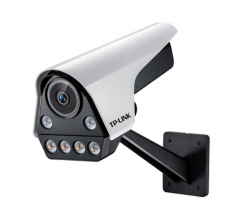 【鹰隼】TP-LINK TL-IPC536FP-W 300万像素POE筒型双光全彩网络摄像机 4MM