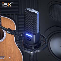 ISK IKG1000 48V供电直播K歌电容麦克风