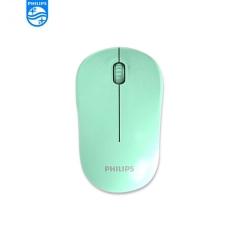 Philips/飞利浦 SPK7374E 商务办公 迷你便携式无线鼠标【100/件】 绿色 无线