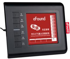 方正 E80 多媒体 8寸语音发音免驱手写板【20/件】 黑色