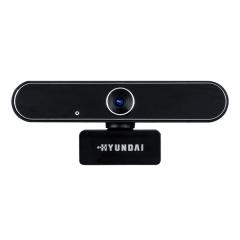 韩国现代 HYS-015 1080P 内置麦克 自动对焦智能高清摄像头 金属黑