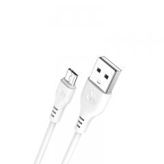 台电 P10 快充 手机安卓数据线 白色 1000mm