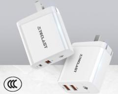 台电 XD30 双USB 安卓快充间容30W MAX输出充电头