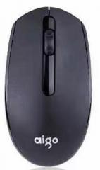 爱国者 Q705 台式笔记本商务办公鼠标 自动休眠无线鼠标【60/件】 黑色 无线