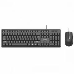 Philips/飞利浦 SPT6234 【套件】3D鼠标 商务有线套件【20/件】 黑色 U+U