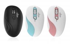 爱国者 Q717无线鼠标 无声鼠标 三色可选 白兰 无线