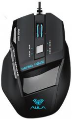 狼蛛 S12 噬魂二代 发光电竞游戏鼠标 黑色 USB