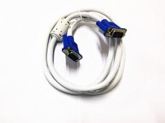 创通世纪 白色VGA线 3+6 视频线 3米