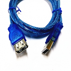 鑫方圆 USB2.0 延长线 蓝色 10米