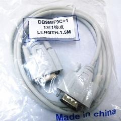 中性 9芯针对孔 连接线 1.5米