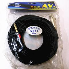 秋叶原 Q801 麦克风导线 卡农母/6.5公 5米