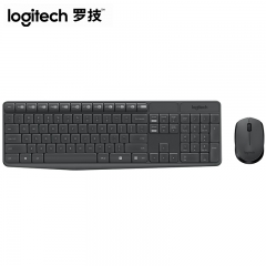 罗技 MK235 无线键鼠套装 黑色 无线