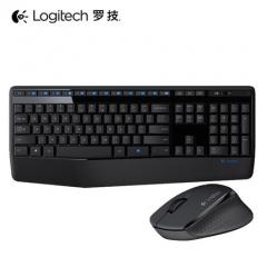罗技 MK345 无线键鼠套件 黑色 无线