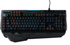 罗技 G910 幻彩机械键盘 黑色 USB
