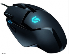 罗技 G402  有线鼠标  电竞宏编程游戏鼠标 黑色 USB
